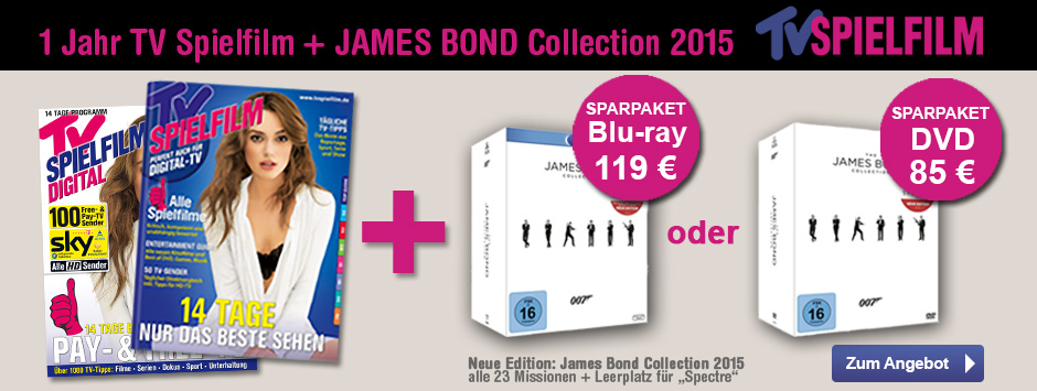 TV SPIELFILM Sparpaket James Bond