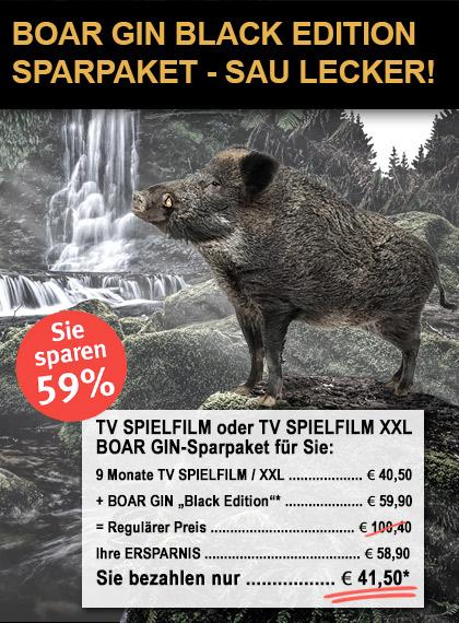 TV SPIELFILM + XXL - Sparpaket Boar Gin