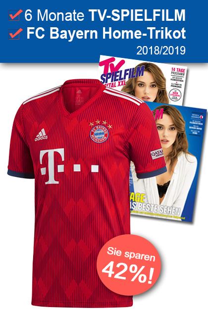 TV SPIELFILM + XXL - FC Bayern Home-Trikot 2018-2019