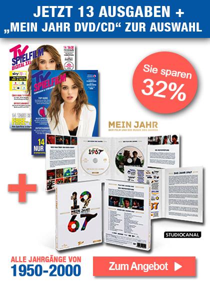 TV SPIELFILM + XXL - Mein Jahr DVD/CD