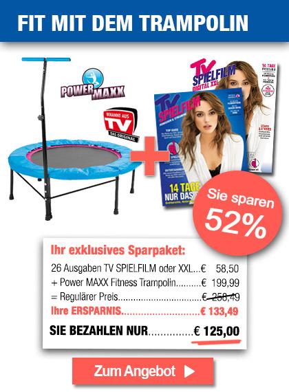 TV SPIELFILM im Sparpaket + Trampolin