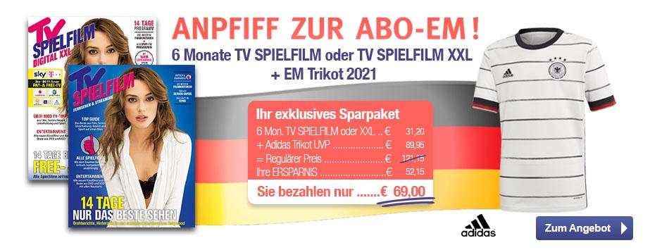 TV SPIELFILM + XXL - EM Trikot 2021