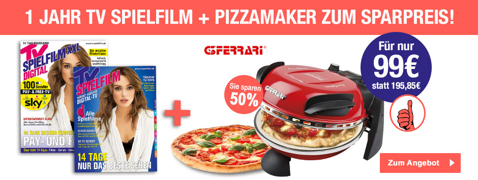 TV SPIELFILM + XXL - Pizzamaker Sparpaket