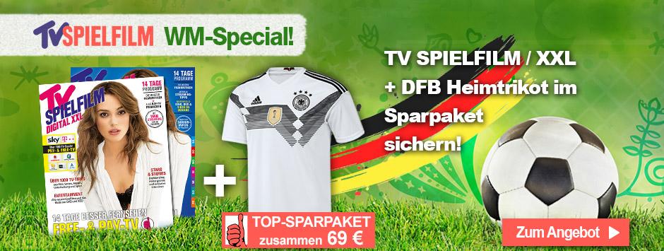 TV SPIELFILM + XXL - WM Trikot 2018