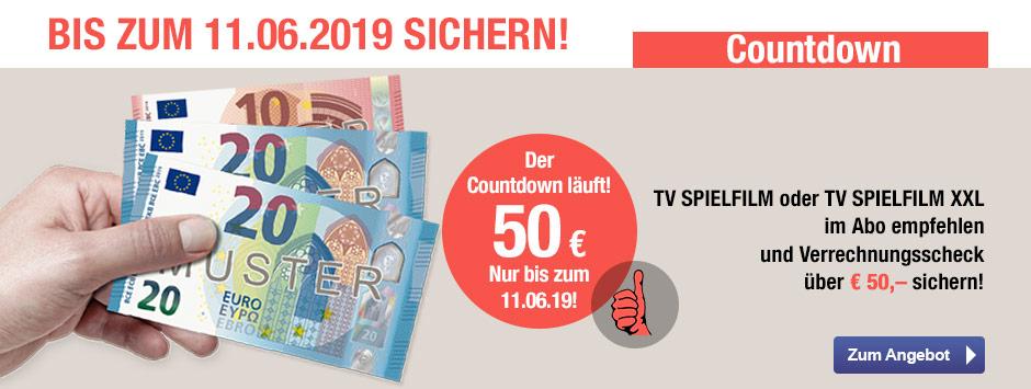 TV SPIELFILM + XXL - Countdown