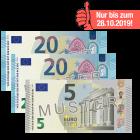 45 Euro Scheck