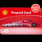 Shell-Tankgutschein 45 EUR