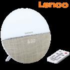 Lenco-Radio-Wecker mit Wake-Up Light