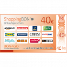 ShoppingBON über 40 EUR
