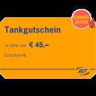 JET-Tankgutschein im Wert von 45 EUR