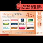 45 EUR ShoppingBON!
