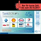 45 EUR TankBon!