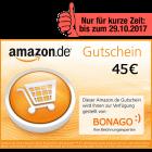 45 EUR Amazon.de Gutschein!