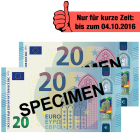 40 EUR Verrechnungscheck