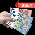 50 Euro Verrechnungsscheck