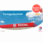 TOTAL-Tankgutschein 45 EUR
