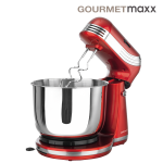 Gourmetmaxx Küchenmaschine metallic-rot