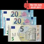 45 Euro Verrechnungsscheck