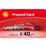 Shell-Tankgutschein im Wert von 40 EUR