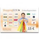 ShoppingBON über 15 Euro