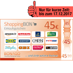 45 EUR ShoppingBON!