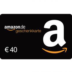 40 € Amazon.de-Gutschein